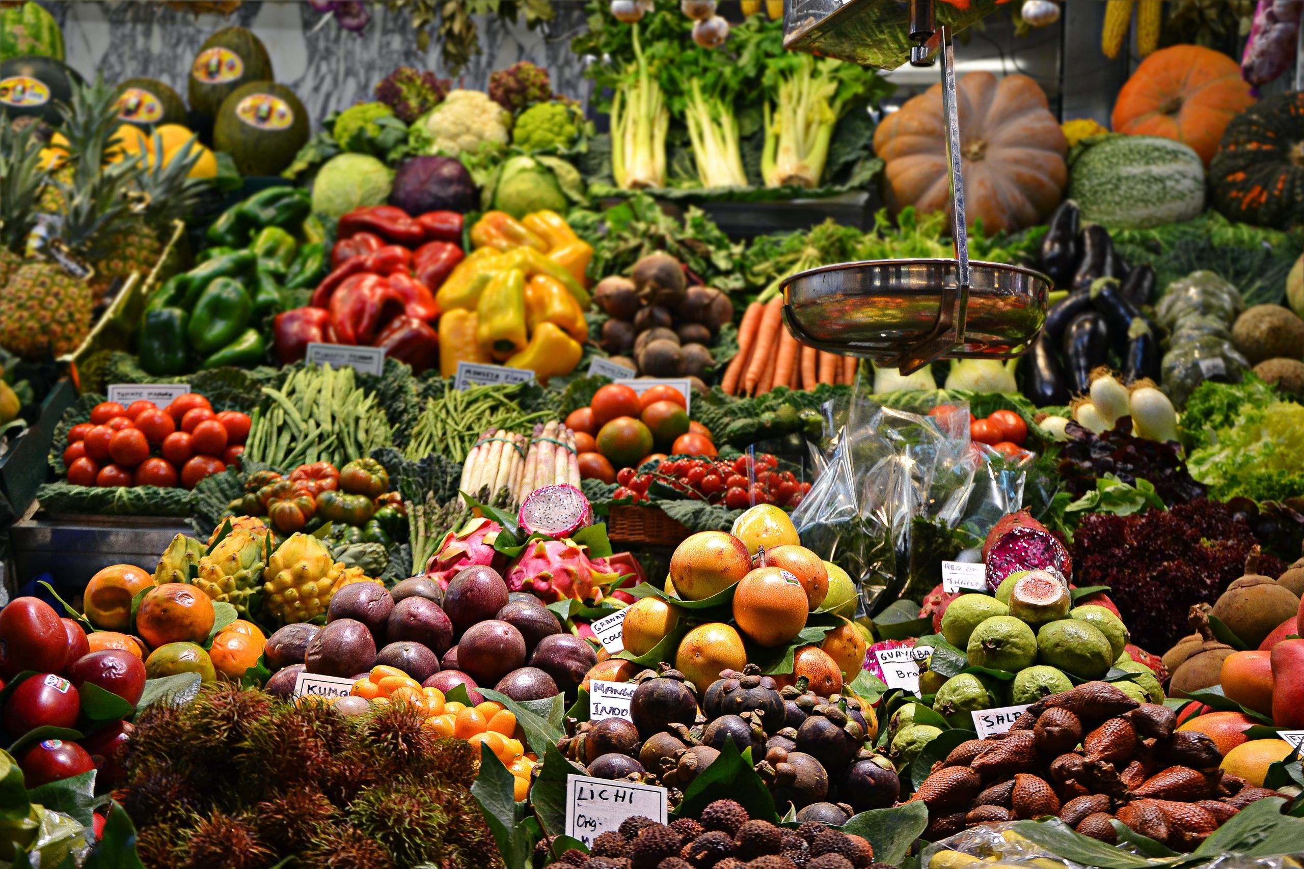 piață agroalimentară